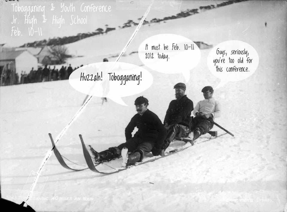 Tobogganing & Youth Conference
