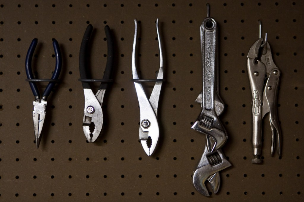 "Photo: ""Wrenches & Pliers"" by Ron Wiecki on Flickr"